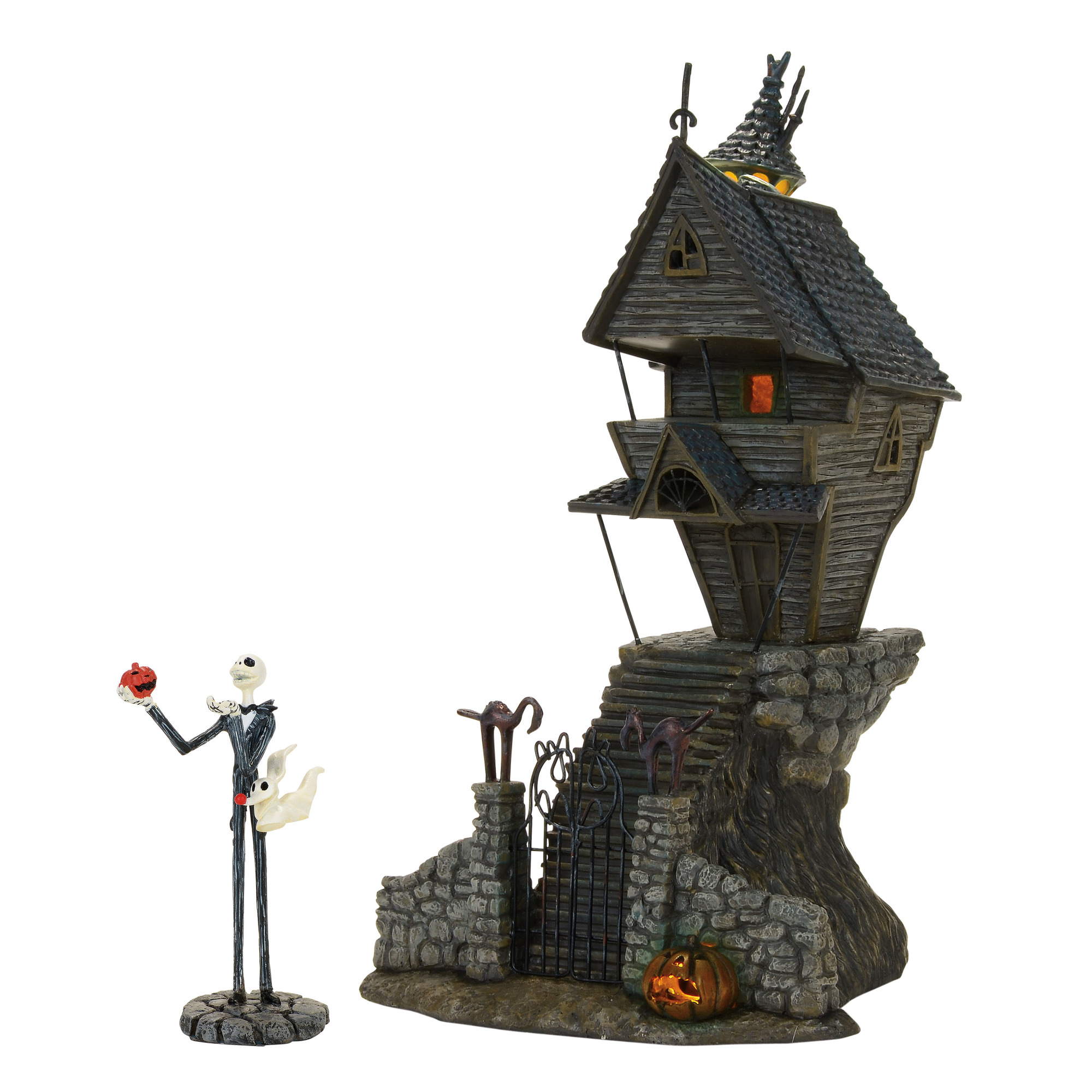 The Nightmare Before Christmas : Jack Skellington\'s House, Set of 2 ...